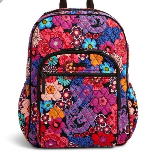 c0546c3fe0 Vera Bradley Campus Backpack in Floral Fiesta